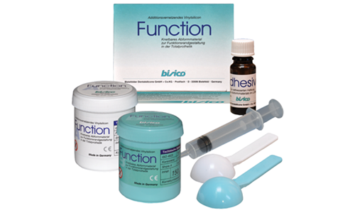 Function Putty, plastic material for forming the functional edges of the prosthesis, pink, 150g + 150g + 10g