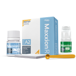 Maxxion R, glass ionomer cement for filling