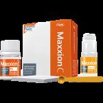 Maxxion C, glass ionomer cement for fixing, powder 15 g, liquid 10 g