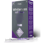 Whiteness HP Blue Kit, gel for chemical bleaching, with calcium, 35% hydrogen peroxide
