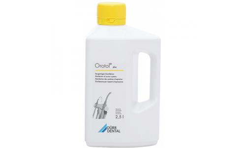 Orotol Plus, concentrate for disinfection of suction systems