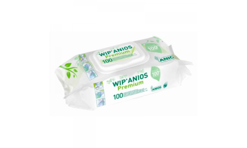 Vip Anios premium napkins, napkins for fast disinfection of products of medical appointment and surfaces, 100 pieces