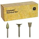 Diamond Sun, polishes with diamond filling