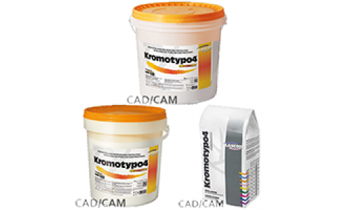 Kromotypo4, heavy-duty gypsum, class 4, with color indication of phases, 6 kg
