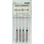 Paste Carriers №35, 25 mm, channel fillers for angular tip, 6 pieces