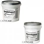 Singletypo4 Light Gray, heavy-duty plaster, class 4, gray