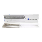 10.302.004 Abrasive plastic strips for grinding and polishing, gray and white, 2.5 * 170mm, 150pcs