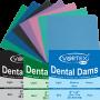 DentalDams - sheets / handkerchiefs for rubber dam, medium green mint